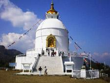 A valley like the capital, Pokhara is however, noticeably more laidback and less cramped.