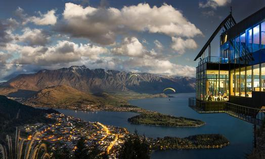 Lunch on own. Afternoon at leisure 7.30 pm Transfer to the Skyline Aerial Gondola terminal. 8.15 pm Dinner tonight is at Queenstown's most spectacular location.