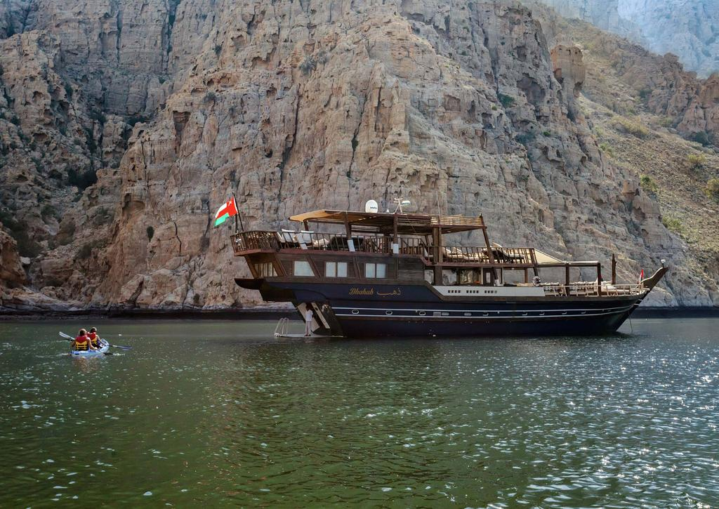 EXPERIENCE Divers rave about the Musandam Peninsula, which is renowned for some of the best dive sites in the world. Dhahab offers a tailor-made dive experience for novices and experts alike.