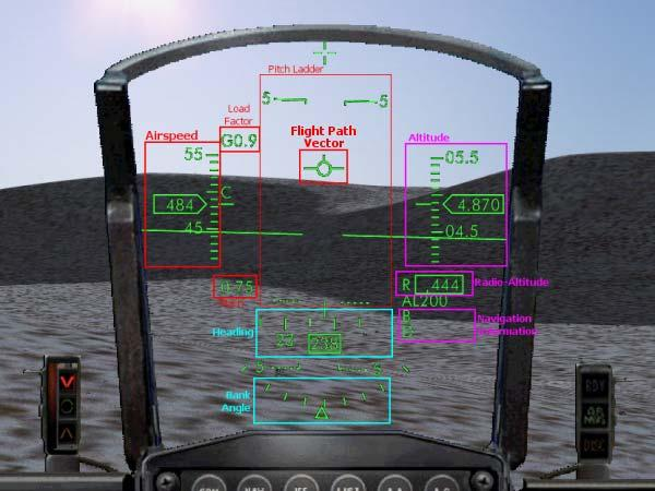 F-16 Head-Up Display Discover a new way to fly.