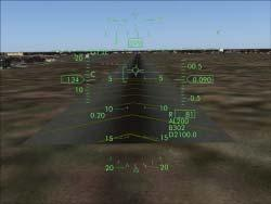 to be aligned with the runway entry to guide the aircraft to landing.