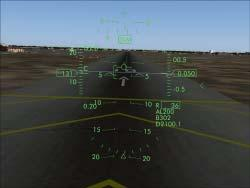 runway entry and it is in the correct incidence range. The aircraft is on the glideslope, perfect.