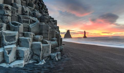 Journey Around Iceland The Journey Around Iceland takes you to all the main highlights of the country, including Lake Myvatn, Geysir hot spring area, Gullfoss waterfall, and Glacier lagoon to name