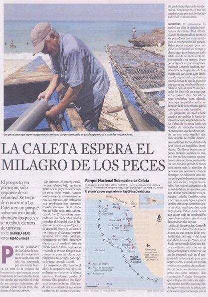 33 La Caleta fishermen have been overfishing park waters since decades ago, an MPA was created in late 1980s, but due to lack of