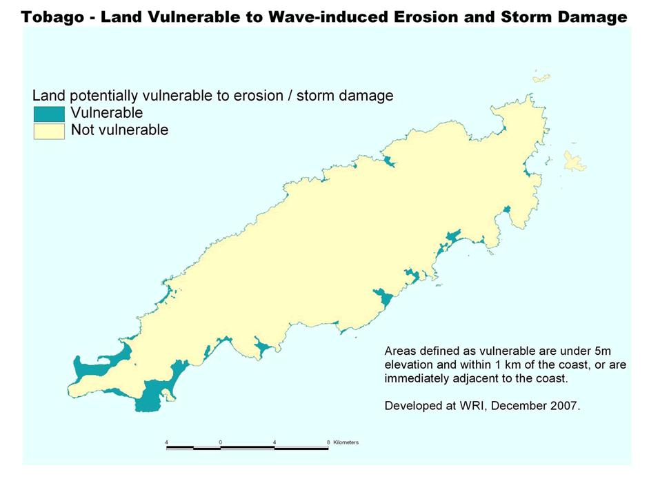 1. 6% of Tobago s land
