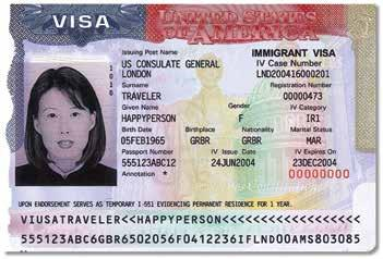 The temporary Form I-551 MRIV is evidence of permanent resident status for one year from the date of admission.