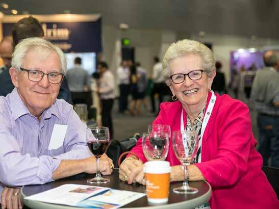 WHO ATTENDS? LASA National Congress attracts executives, managers and company directors from retirement living, residential aged care and home care service providers.