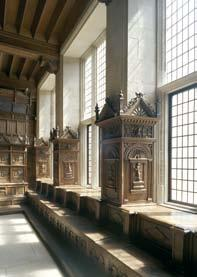 With their severe form these examples of panelling are true Renaissance masterpieces.