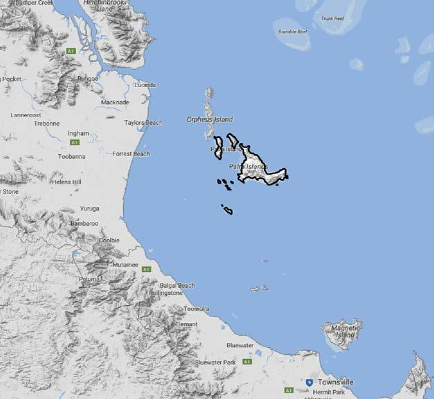 "1.5 Palm Island Economic and Demographic Profile Palm Island is an Aboriginal community located on Great Palm Island, also called by the Aboriginal name ""Bwgcolman"". Covering an area of 70."