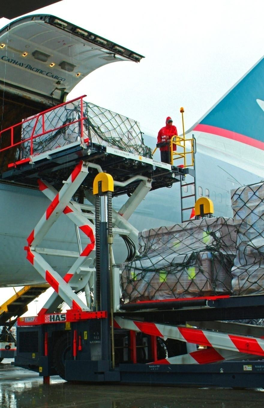 Operating performance Cargo 2015 2014 % Var Group Revenue HK$m 23,122 25,400-9.0% Cathay Pacific and Dragonair Revenue HK$m 20,079 22,035-8.9% Cargo capacity (ATK) Million 16,481 15,630 +5.