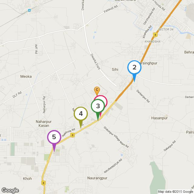 Restaurants Near Vatika City Homes, Gurgaon Top 5 Restaurants (within 5 kms) 1 PAPPU VAISHNO DHABA 1.16Km 2 Haldiram 2.