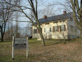 Procedure: From the departure point at Marist College, Rhinebeck is 18 miles north. There, visitors will see the Quitman House, a pair of 1798 cottages built for the Reverend Frederick H. Quitman. The Reverend was pastor of Lutheran Palatines until he took ill in 1828.