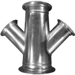K&B Duct Flanged Duct For parts under 24 use the price of the corresponding part in the K&B Duct line and add the price of two flanges.