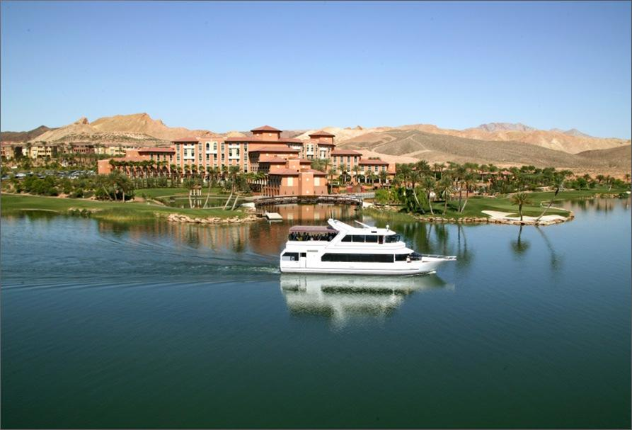 Lake Las Vegas Luxury What a difference a lake makes.