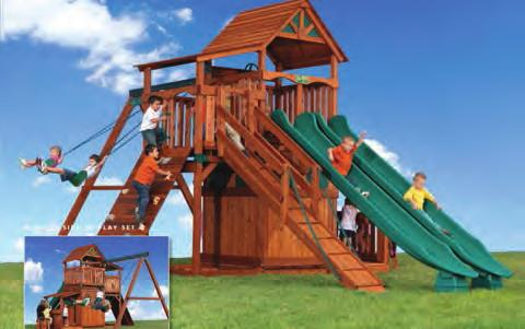 backyards Price 26 22 Avalanche #031-318 Tarp Roof 3 Position Single Beam 2 Belt Swings Glider