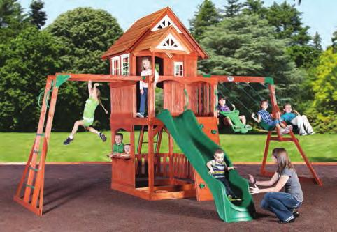 Swivel Swing Price 59 44 Titan 3 Treehouse #031-004 Playhouse Package Porch Lemonade Stand 2 Belt
