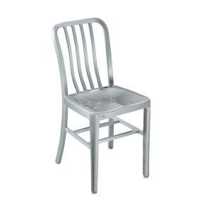 Item B-1.10 Chairs, Hospital Type Metallic chair for hospital general use. 1) Typical heavy duty 4 legs steel chair for hospital use. 2) Stainless steel frame, at least 12 gauge steel.