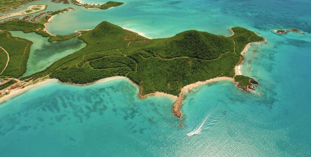Unique Catering to those who wish to enjoy the best the Caribbean has to offer, with beaches and 67 plots over its undulating 137 acres, Pearns Point creates a striking peninsula juts out into bright