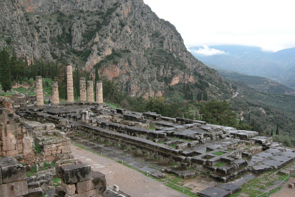 Sacred Sites The Greeks considered groves of trees, springs, and other places to be sacred because they were home to a god or spirit. Mount Olympus, in northern Greece, was an important sacred spot.