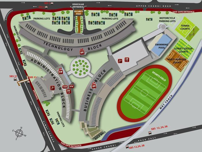 ITE College East Campus Map 1 1.