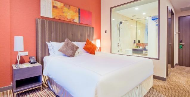 The hotel is a short walk from the Expo MRT station and approx 25 mins walk to the ITE College East campus.