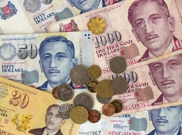 More about Singapore Currency The Singaporean currency is Singapore dollar SGD or S$. Coins: $0.01 (bronze), $0.05 (gold), $0.10 (silver), $0.20 (silver), $0.