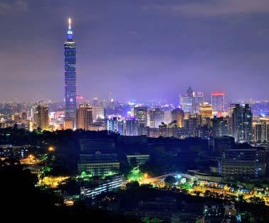 9 million people Center of commerce and government for the country with world class amenities About Taiwan Total population of 23 million people