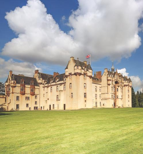 A HUNDRED THOUSAND WELCOMES CEUD MÌLE FÀILTE Whether it is visiting Crathes Castle or Glen Garioch (pronounced Geery) whisky distillery, we are all experiencing