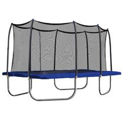 Skywalker Trampolines 15ft x 9ft Rectangular Trampoline and Enclosure with Spring Pad $1,215.00 delivered with $260.00 extra charge for assembly, if needed.