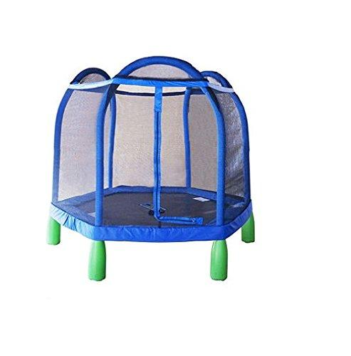 My First 84in Trampoline and Enclosure. $375.00 delivered The 7' My first trampoline is the perfect entry-level trampoline for children, made with both younger kids and parents in mind.