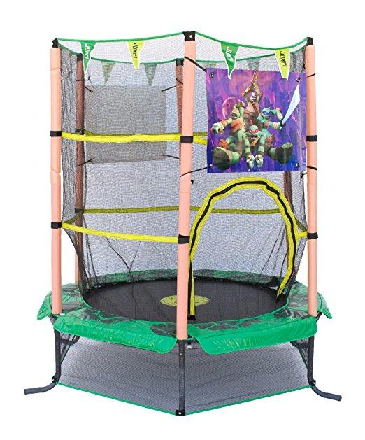 Airzone 55in Teenage Mutant Ninja Turtle trampoline and enclosure $319.00 delivered Enjoy hours of fun and exercise with out 55 inch diameter youth trampoline and enclosure combo.