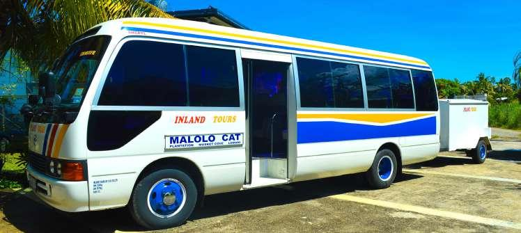 Bus Transfers to Port Denarau If you are travelling to Plantation Island Resort, Lomani Island Resort or Musket Cove Resort, Malolo Cat offers a complimentary shuttle service from Fiji Gateway Hotel