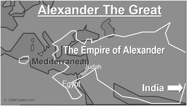 invaded with an army from Macedonia, a land to the north, and conquered ALL of Greece Continued