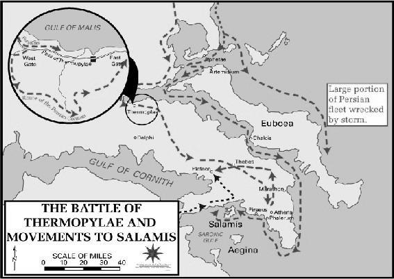 Greek city-states joined together to fight off the Persians Famous battles: