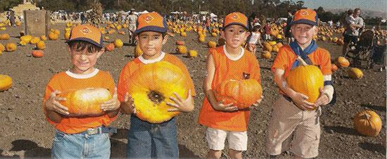 Of course you can check for events in your community to weave into a walk. A hike to a pumpkin patch could be just the thing for Tiger Cubs picking out what they need for Halloween.