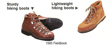 Their lightweight cousins, made primarily of nylon, can save pounds of lifting with each step, making them ideal for open trails.