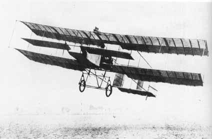 On January, 13th 1908, Henri Farman, accomplished on a Voisin, a flight of 1 kilometer in a closed loop at Issy -les-moulineaux, gaining the Deutch-Ardeacon prize.