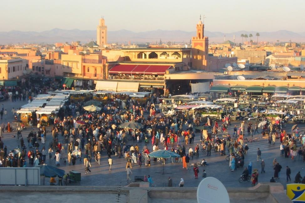 Marrakech Day 9: Marrakech Breakfast and morning sightseeing tour of this Imperial city, capital of the Atlas