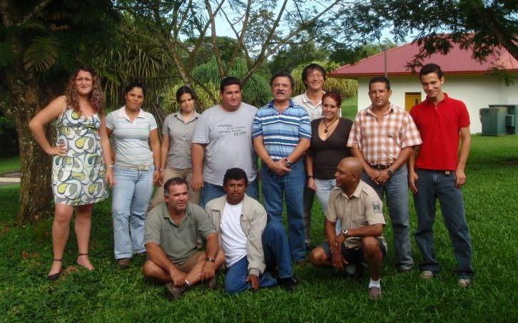First Project with JICA Participatory Management of Barra del Colorado National Wildlife Refuge 2008-2011 Six new staffs