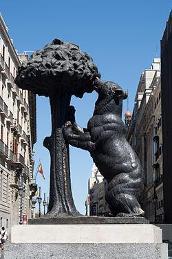 "Madrid was originally thought to be named Ursa, which means ""bear"" in Latin."