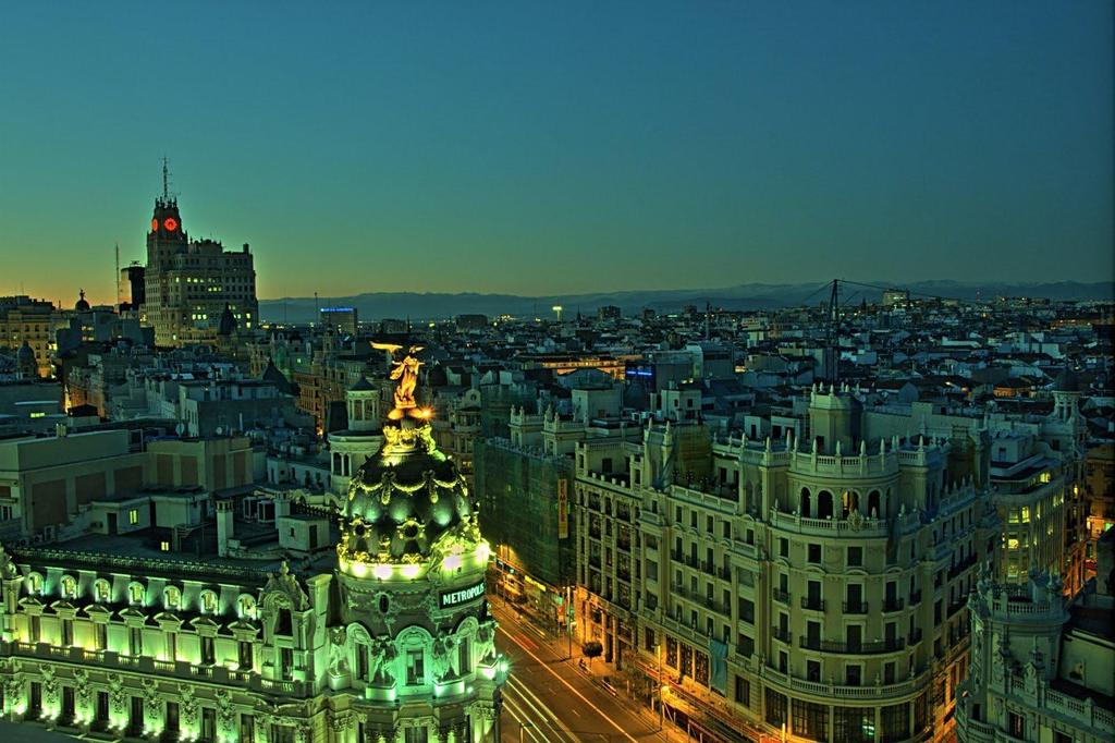 See Madrid from the top of the