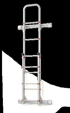 Deluxe ladders Rear Door over rear door enclosure DELUXE SPRINTER High quality aluminium ladders.