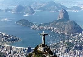 Tourism is growing in Brazil.