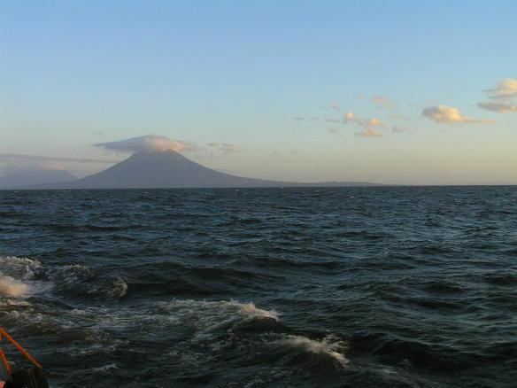 Largest lake in Central America Located in Nicaragua Called The Sweet Sea Has sizeable waves and