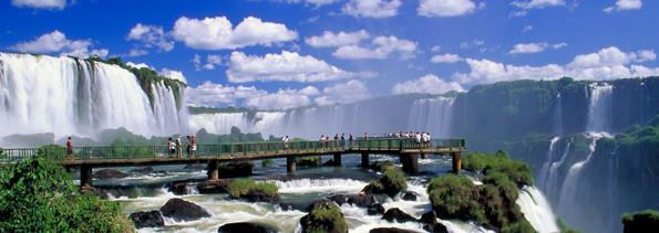 ABOUT THE DESTINATION FOZ DO IGUACU Iguaçu Falls located on the border of the State of Parana, is one of the most famous attractions in all of Brazil.