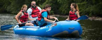 Adventure Campground at Whitewater Challengers 1 288 N Stagecoach Road, Weatherly, PA 18255 570-427-4355/800-443-8554 whitewaterchallengers.