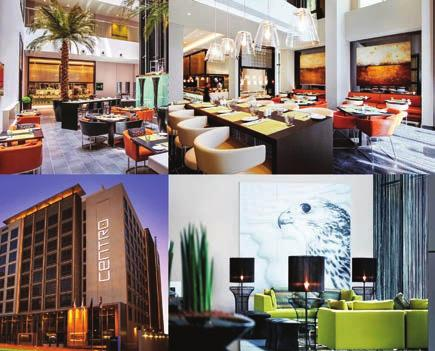 relaxation. FSRG supplied and fixed artworks for all rooms and public area spaces. Centro Capital, Doha.