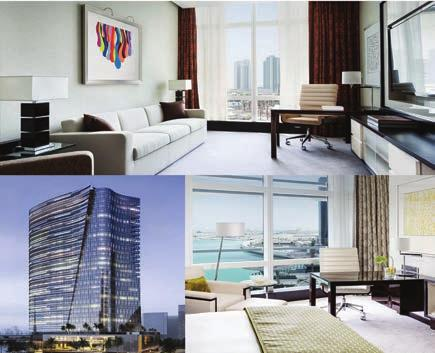 Directly connected to the Mall of the Emirates, the 481 rooms Sheraton Dubai Hotel is located with easy access
