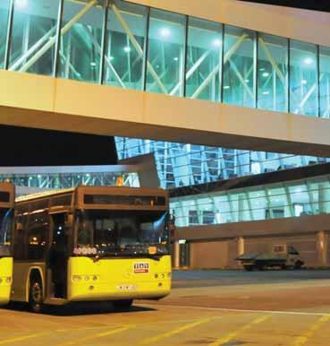 TBS & BUS ARE NEW AND EFFICIENT AIRPORTS Tbilisi (TBS) and Batumi (BUS) airports, with their state-of-the-art terminals, offer smooth operations for any type of aircraft.