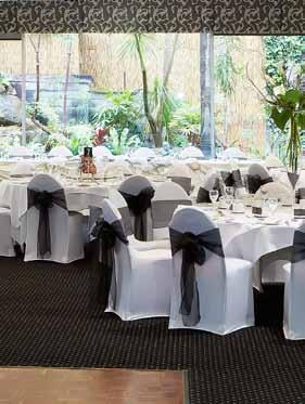 room capacities conferences & events fernery rooms A simply elegant space, the Fernery Rooms will appeal to all your delegates - with natural light and a full length window overlooking a fernery